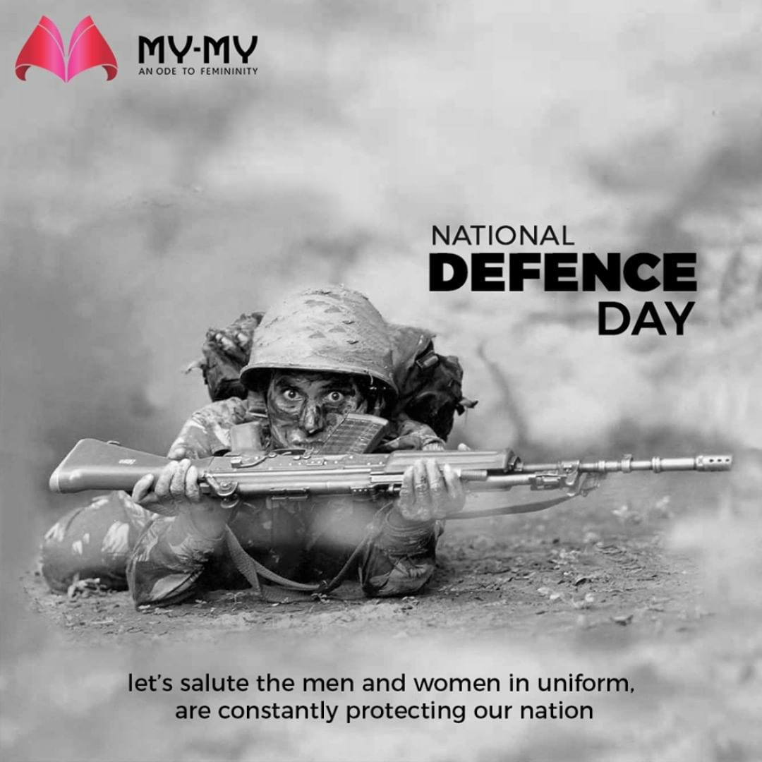 Let's salute the men and women in uniform, are constantly protecting our nation.  #NationalDefenceDay #MyMyAhmedabad #Fashion #Ahmedabad #FemaleFashion #Casuals #Gujarat #India