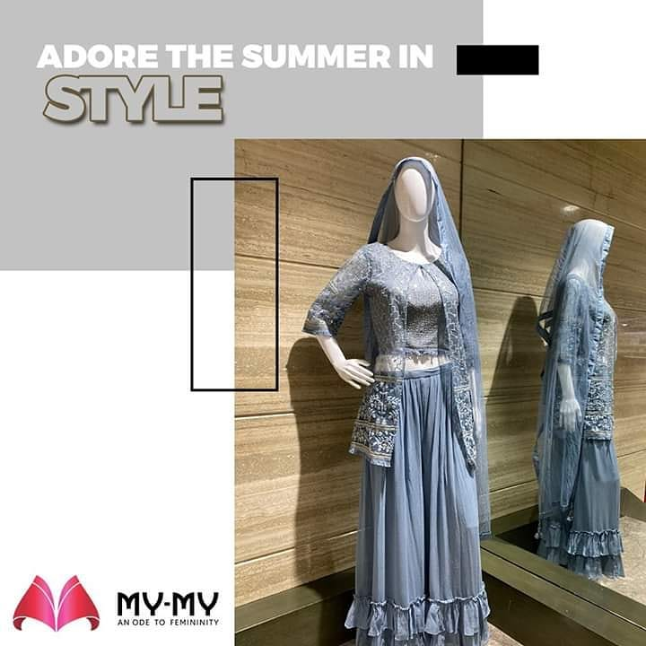 Wave a grand hello to the shining sun & adore the summer in style with the finesse edits of My-My Store!  #CasualMoods #CasualLook #FashionNeeds #MyMy #MyMyCollection #ExculsiveEnsembles #ExclusiveCollection #Ahmedabad #Gujarat #India