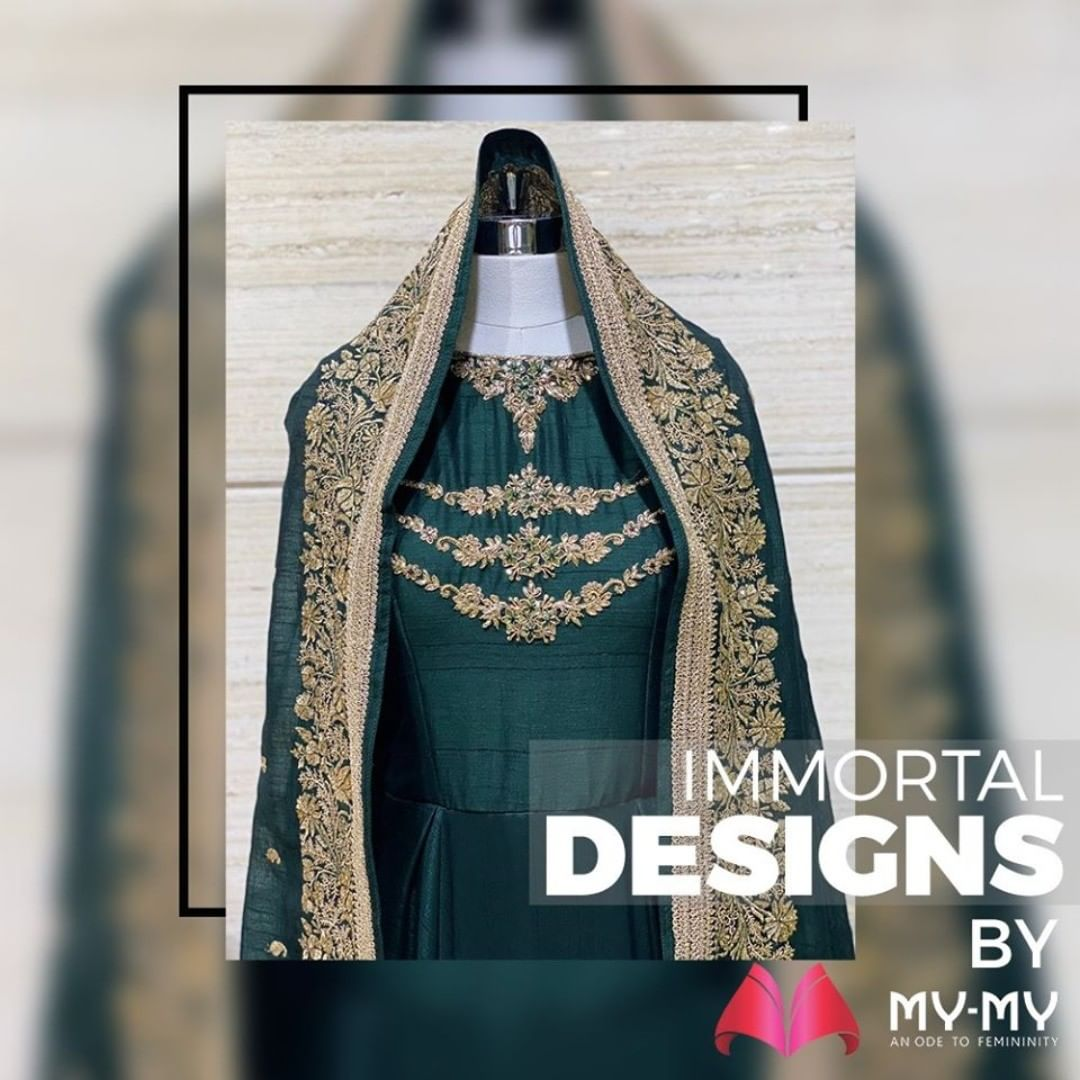 Glitter up your beauty with the alluring designs by My-My.  #MyMy #MyMyCollection #EthnicCollecton #ExculsiveEnsembles #ExclusiveCollection #Ahmedabad #Gujarat #India