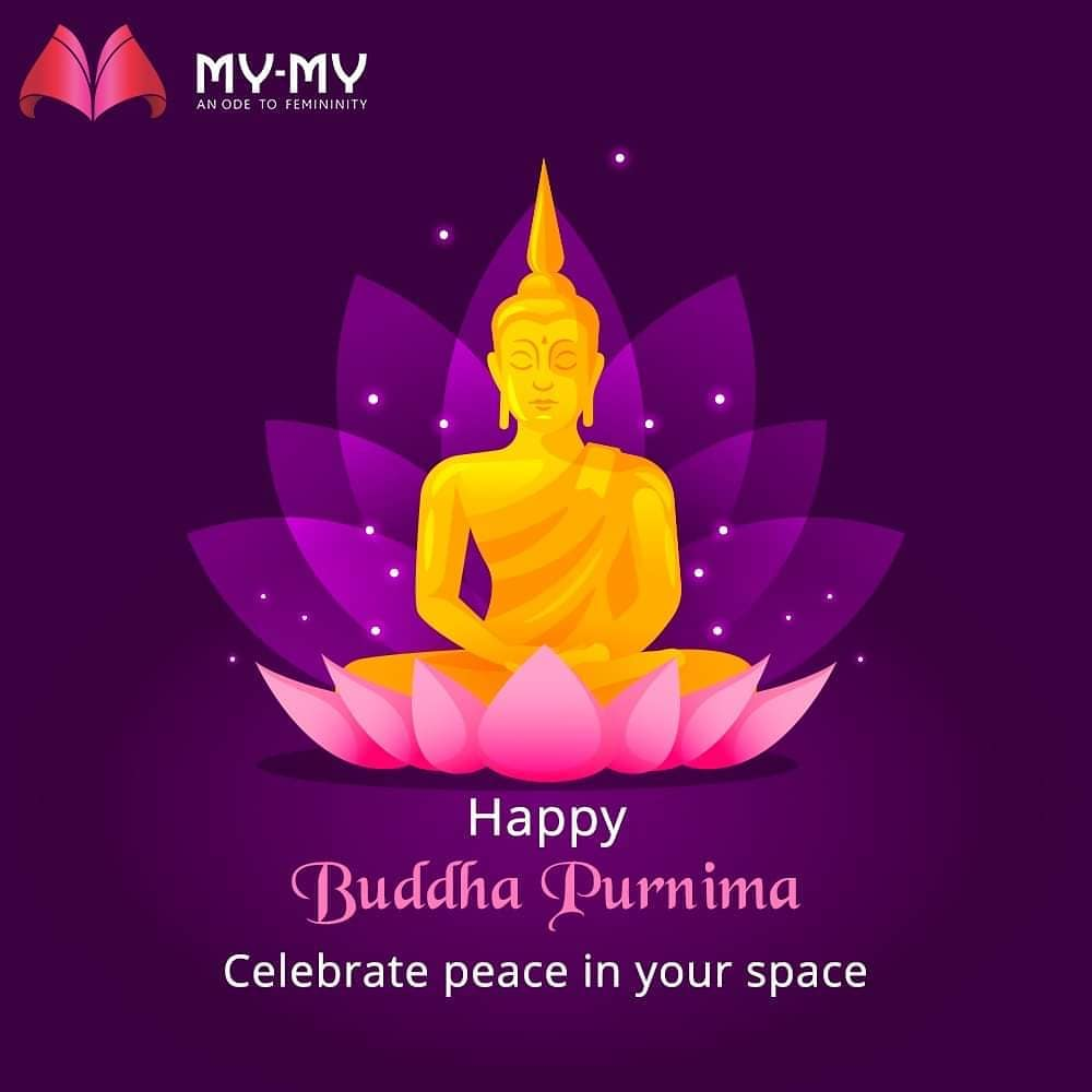 Celebrate peace in your space. Happy Buddha Purnima.  #HappyBuddhaPurnima #BuddhaPurnima #BuddhaPurnima2020 #MyMy #ExclusiveCollection #LatestDesigns #MyMyEdition #StayHome #StaySafe #CoronaVirus #Covid19 #ProtectYourself #IndiafightsCorona