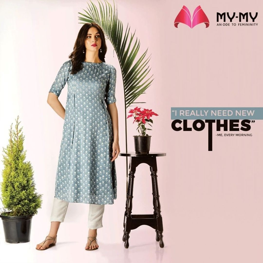 Ladies, isn't it relatable?  #MyMy #MyMyCollection #EthnicCollecton #ExculsiveEnsembles #ExclusiveCollection #Ahmedabad #Gujarat #India