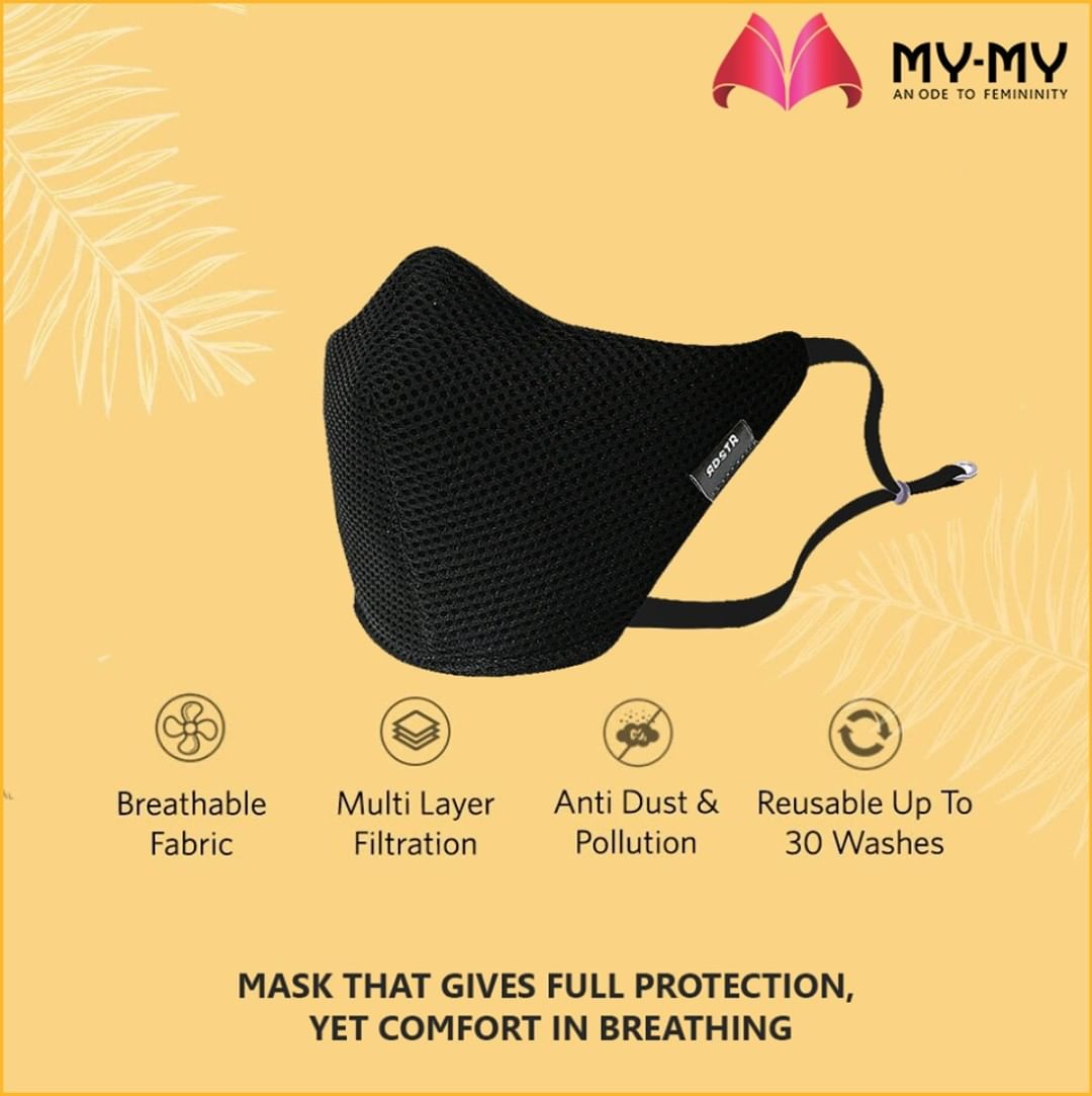 Mask that gives full protection, yet comfort in breathing are now available at My-My!  #MyMy #MyMyCollection #EthnicCollecton #ExculsiveEnsembles #ExclusiveCollection #Ahmedabad #Gujarat #India