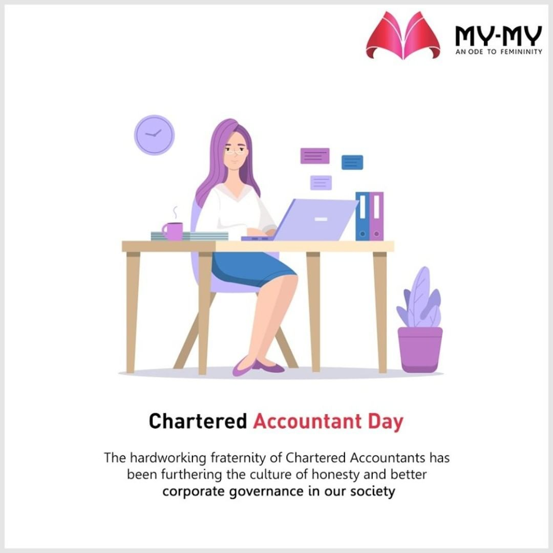 The hardworking fraternity of Chartered Accountants has been furthering the culture of honesty and better corporate governance in our society.  #CharteredAccountant #HappyCharteredAccountantDay #HappyCADay #CADay #CADay2020 #MyMy #MyMyCollection #EthnicCollecton #ExculsiveEnsembles #ExclusiveCollection #Ahmedabad #Gujarat #India