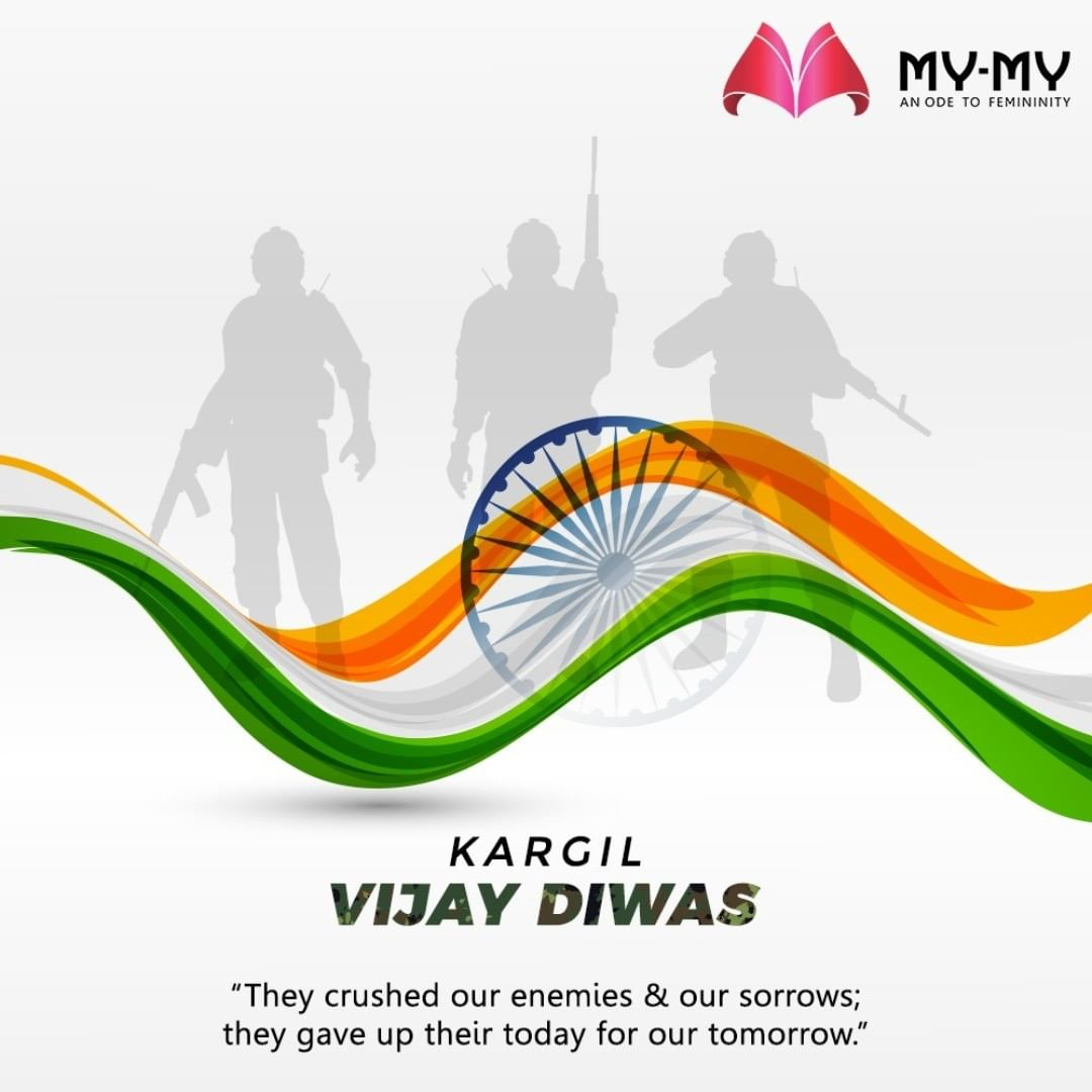 """They crushed our enemies & our sorrows; they gave up their today for our tomorrow."" #KargilVijayDiwas #KargilVijayDiwas2020 #JaiHind #IndianArmy #RememberingKargil #MyMy #MyMyCollection #EthnicCollecton #ExculsiveEnsembles #ExclusiveCollection #Ahmedabad #Gujarat #India"
