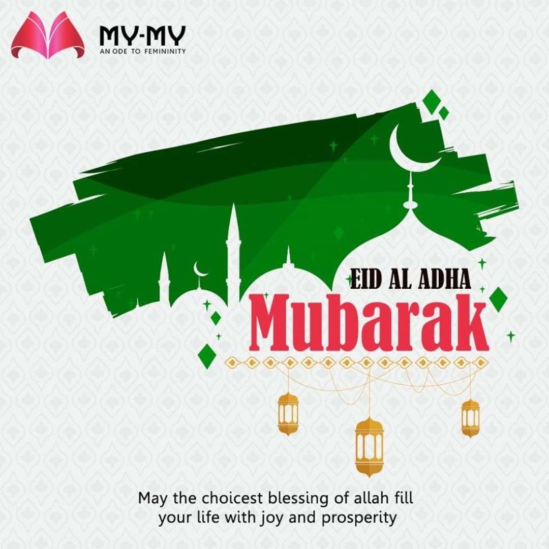 May the choicest blessing of Allah fill your life with joy and prosperity  #EidMubarak #EidAlAdha #EidAdhaMubarak #EidAlAdha2020 #BlessedEid #HappyEid #MyMy #MyMyCollection #EthnicCollecton #ExculsiveEnsembles #ExclusiveCollection #Ahmedabad #Gujarat #India