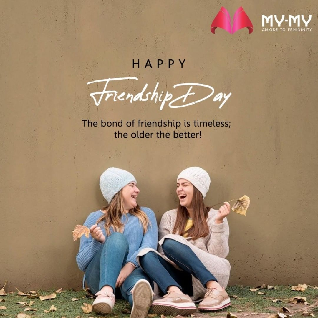 The bond of friendship is timeless; the older the better!  #FriendshipDay #FriendshipDay2020 #HappyFriendshipDay #Friends #MyMy #MyMyCollection #EthnicCollecton #ExculsiveEnsembles #ExclusiveCollection #Ahmedabad #Gujarat #India