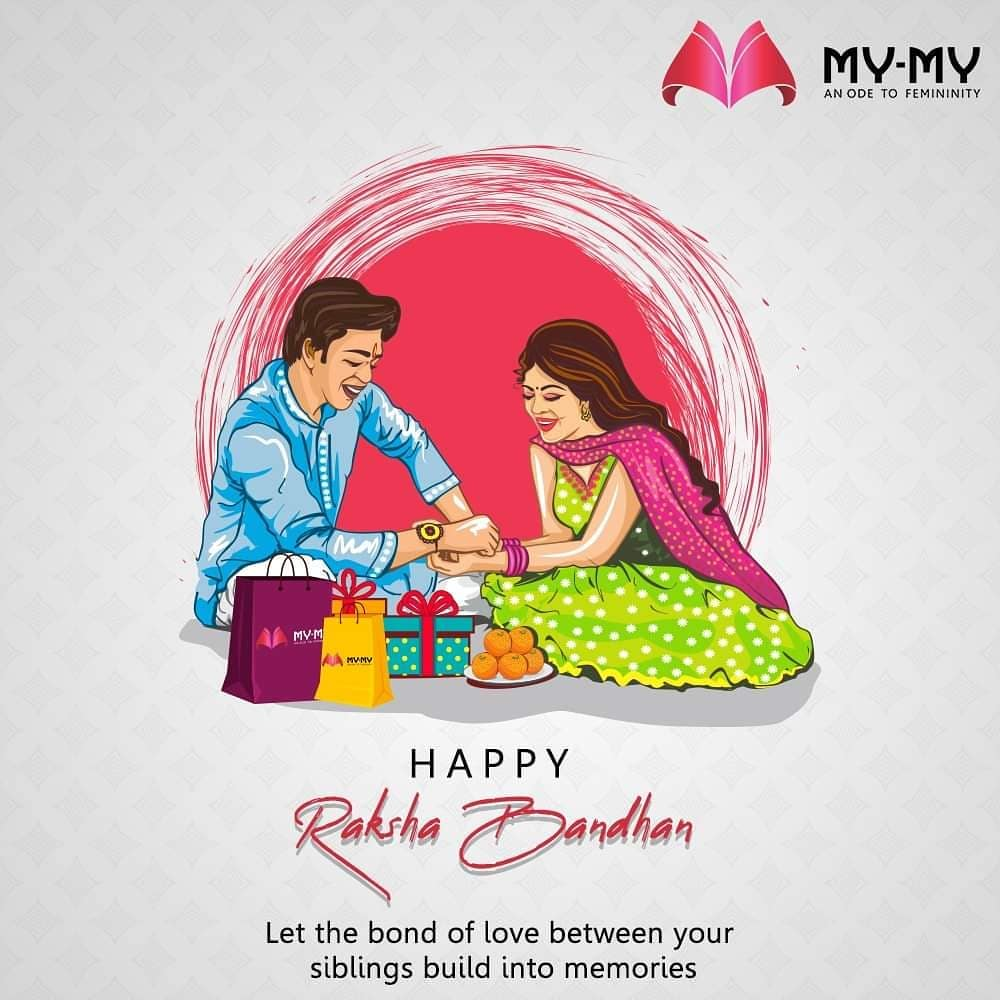 Let the bond of love between your siblings build into memories.  #Rakshabandhan2020 #Rakhi2020 #Rakhi #Rakshabandhan #HappyRakshabandhan #IndianFestivals #Celebrations #Festivities #MyMy #MyMyCollection #EthnicCollecton #ExculsiveEnsembles #ExclusiveCollection #Ahmedabad #Gujarat #India