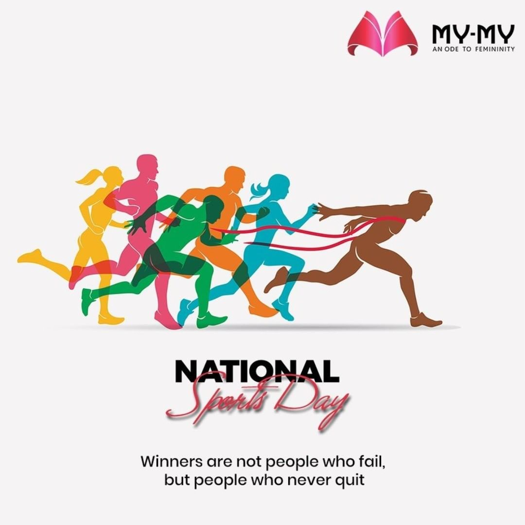 Winners are not people who fail, but people who never quit  #NationalSportsDay #SportsDay #NationalSportsDay2020 #MajorDhyanChand #BirthAnniversary #MyMy #MyMyCollection #Clothing #Fashion #Ethnic #EthnicWear #Kurti #Palazzo #Scarf #Style #WomensFashion #ExculsiveEnsembles #ExclusiveCollection #Ahmedabad #Gujarat #India