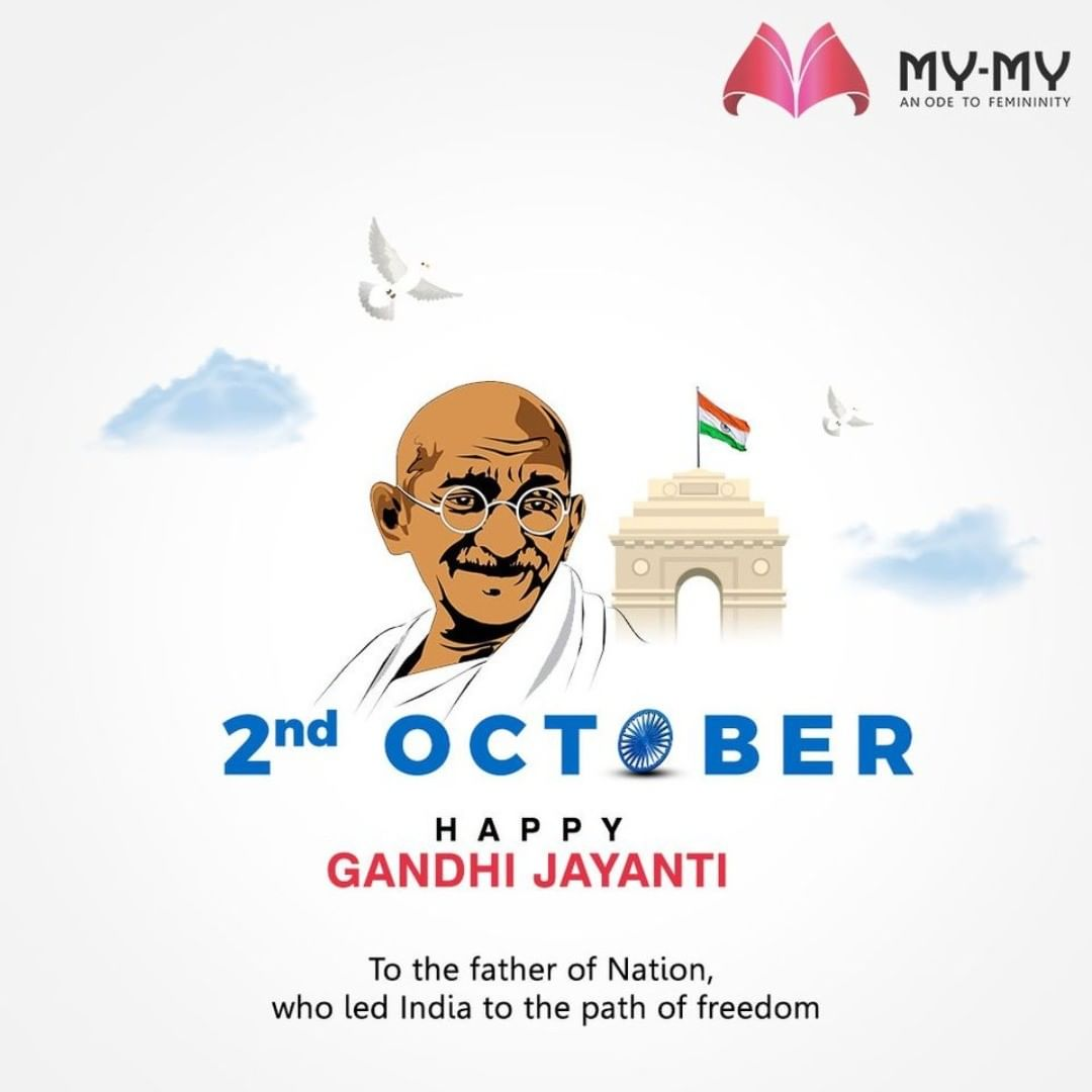 To the father of Nation, who led India to the path of freedom.  #GandhiJayanti #GandhiJayanti2020 #2ndOctober #GandhiJi #MahatmaGandhi #MyMy #MyMyCollection #Ahmedabad #Gujarat #India #SGHighway #CGRoad