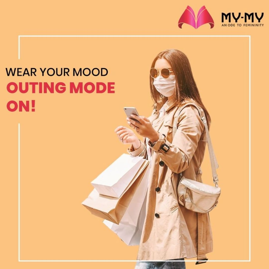 Wear your Mood and Celebrate every moment of Life. Outing in these times can be made fashionable with a sleek tan jacket and jeans.  #MyMy #MyMyCollection #Clothing #Fashion #WearYourMood #Tops #Jeans #MaskOutfit #OutingOutfit #OOTD #FashionTrend #Trendy #Casual #Style #WomensFashion #ExculsiveEnsembles #ExclusiveCollection #Ahmedabad #Gujarat #India