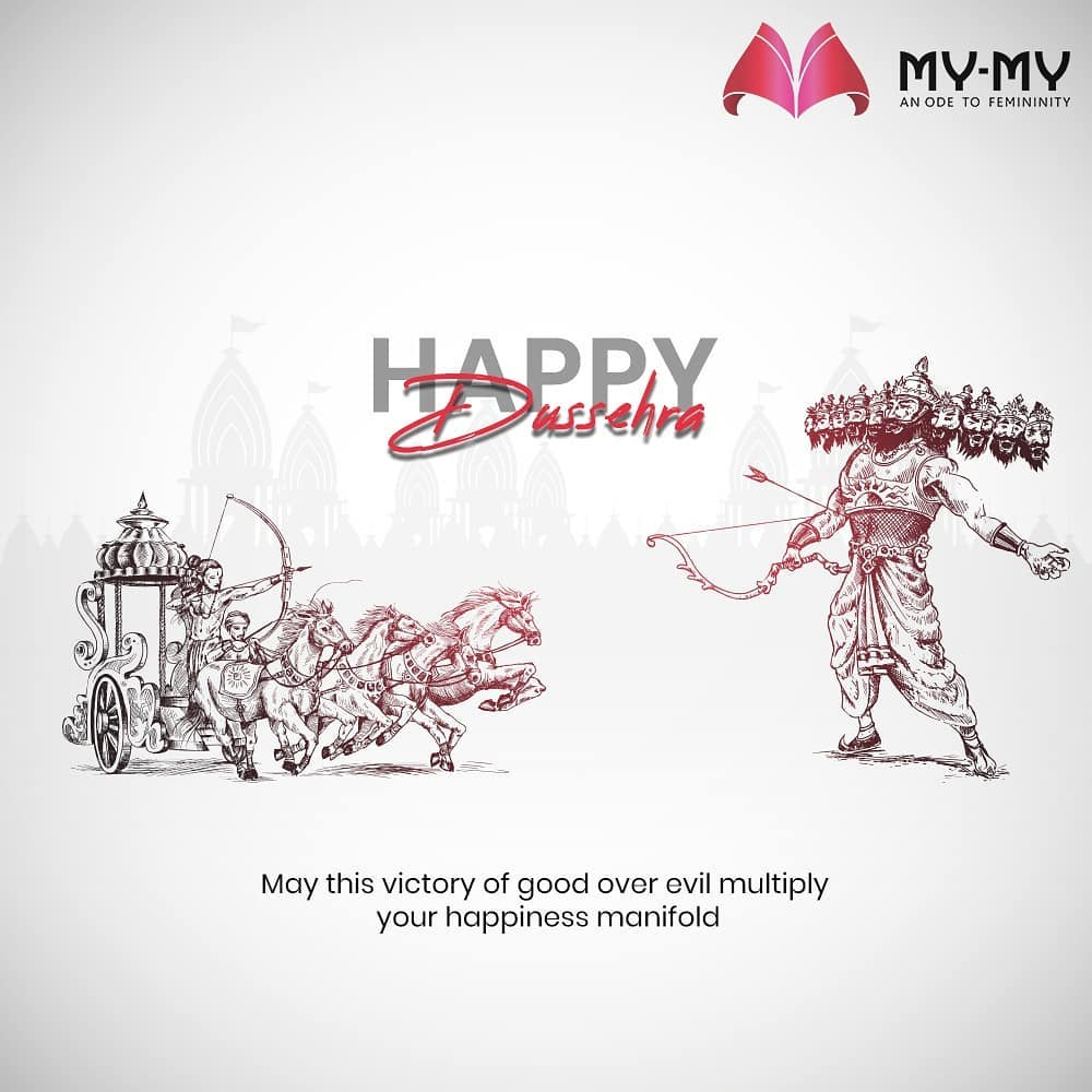 May this victory of good over evil multiply your happiness manifold  #HappyDussehra #Dussehra #Dussehra2020 #Festival #Vijayadashmi #HappyDussehra2020 #MyMy #MyMyCollection #Ahmedabad #Gujarat #India #SGHighway #CGRoad