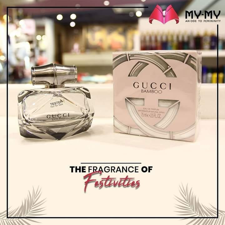 Presenting heavenly fragrances that pass on a very strong sense of festivities with a floral and sweet aroma.   #MyMy #MyMyCollection #Fragrances  #PerfumeCollection #Perfume #Gucci #BrandedPerfume #ExclusiveCollection #Fashion #Ahmedabad #Gujarat #India