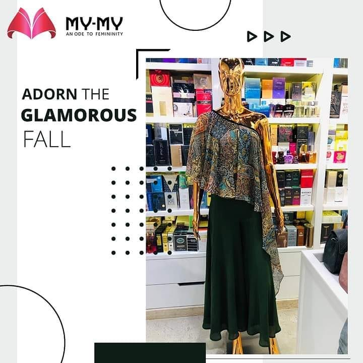 Adorn the glamorous fall of this artsy one-shoulder top with matching olive green palazzo pants and be the life of the occasion.   #MyMy #MyMyCollection #Clothing #Fashion #Gown #OneShoulder #OffShoulder #Jumpsuit #Style #WomensFashion #ExculsiveEnsembles #ExclusiveCollection #Ahmedabad #Gujarat #India