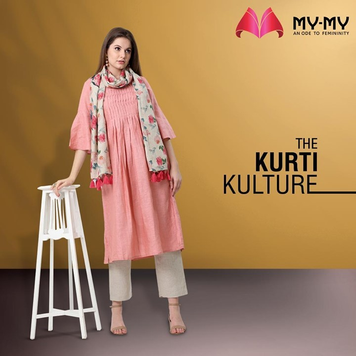 Welcome to the Kurti Kulture with in-trend Kurti sets that elevate your glam quotient and transcends you into the world of aesthetic ethnics.  #MyMy #MyMyCollection #Clothing #Fashion #Ethnic #Kurti #Palazzo #Style #WomensFashion #ExculsiveEnsembles #ExclusiveCollection #Ahmedabad #Gujarat #India