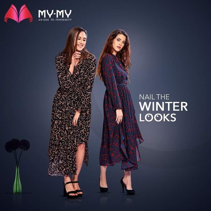 Nail the Winter Looks that truly understand your need to stay warm and still cast a chic spell.  #MyMy #MyMyCollection #Clothing #Fashion #Outfit #FashionOutfit #Dresses #WinterDresses #CasualWear #WinterOutfits #Style #WomensFashion #Ahmedabad #SGHighway #SGRoad #CGRoad #Gujarat #India