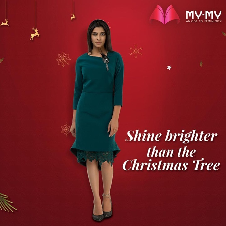 Shine brighter than the Christmas Tree and spread your radiance throughout the joyous season.  #MyMy #MyMyCollection #Clothing #Fashion #Outfit #FashionOutfit #Dresses #ChristmasOutfit #WinterDresses #CasualWear #WinterOutfits #Style #WomensFashion #Ahmedabad #SGHighway #SGRoad #CGRoad #Gujarat #India