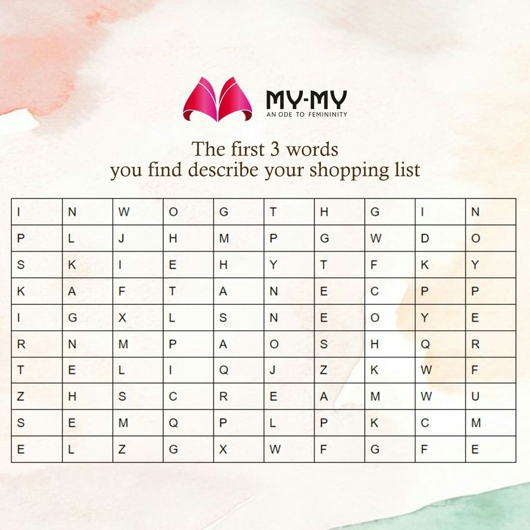 Everything from your shopping list will be available at your nearest my my store.  Visit our store any day between 10 AM to 3 PM  #MyMy #MyMyCollection #Clothing #Fashion #shoppinglist #Outfit #FashionOutfit #comfyclothes #blissfulmoments  #blissfulmoment #comfywear #comfyoutfits #help #summerwear #summeroutfits #sharegoodvibes #goodvibes #fashioninahmedabad  #ahmedabadclothing #ahmedabadfashion #ahmedabadfashionblogger #ahmedabadfashionbloggers