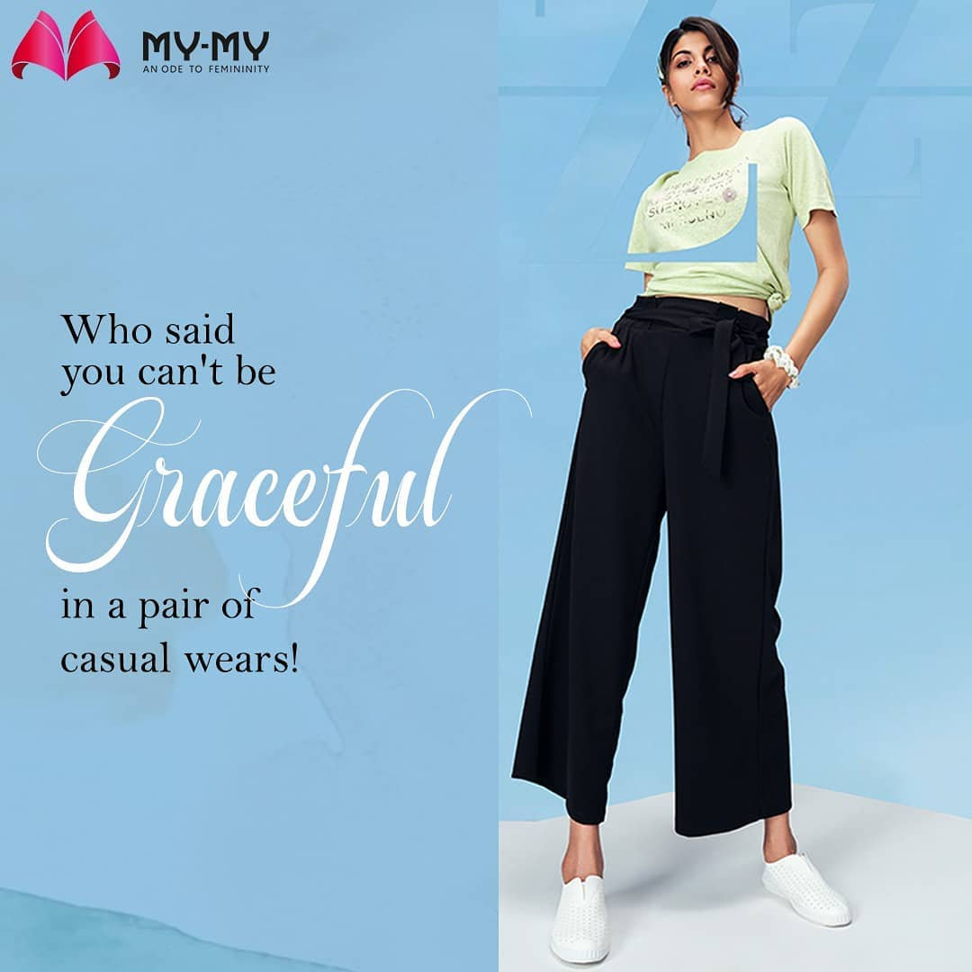 Shop from the most amazing collection of casual wears in town.  Visit your nearest My-My store. . . . . #casualwear #casualwears #comfywear #comfywears #MyMy #MyMyCollection #stylishoutfits  #Clothing #Fashion #Outfit #FashionOutfit #summerwear #nightwear #intimatewear  #swimwearfashion #cosmetics #swimwear #summeroutfits #Style #fashioninahmedabad  #ahmedabadclothing #ahmedabadfashion #gujaratfashion #WomensFashion #Ahmedabad #SGHighway #SGRoad #CGRoad #Gujarat