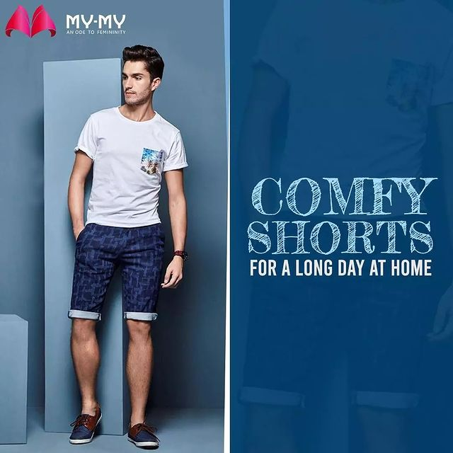 It's time to step out, Buy shorts from My-My, Get back home and relax. . . . . #shorts #menshorts #mensbottoms #menswear #MyMy  #casualwear #casualwears #intimatewear  #swimwearfashion #swimwear #summeroutfits  #fashioninahmedabad  #ahmedabadclothing #ahmedabadfashion #gujaratfashion #WomensFashion #Ahmedabad #SGHighway #SGRoad #CGRoad