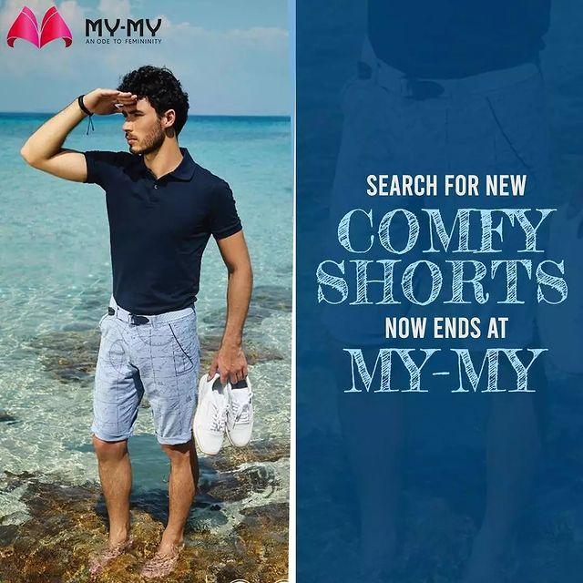 For an amazing collection of menswear, visit your nearest My-My store. . . . . #shorts #menshorts #mensbottoms #menswear #MyMy  #casualwear #casualwears #intimatewear  #swimwearfashion #swimwear #summeroutfits  #fashioninahmedabad  #ahmedabadclothing #ahmedabadfashion #gujaratfashion #WomensFashion #Ahmedabad #SGHighway #SGRoad #CGRoad