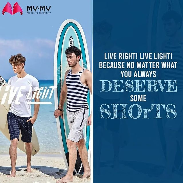 Beach day, house party, reunions or late night scenes, these light shorts become the wardrobe staple every man needs to have🩳  Shop your choice of comfy pair from the nearest My-My store!  #livelight #lightclothes #comfyclothes #practicalfashion #fashiontrends2021 #mensfashion #shoplocal #discountshopping #trendy #fashion #ahmedabad #mymy #shortsformen #mymyahmedabad #gujaratfashion #ahmedabadfashion #ahmedabadclothing #CGRoad #SGHighway #SGRoad