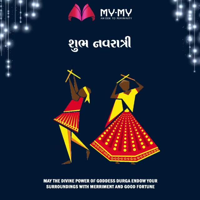 May you be blessed this festive season!  #HappyNavratri #Navratri #Navratri2018 #IndianFestivals #Dandiya #Garba #MYMYStore #Shopping #FashionStore #Gujarat #India