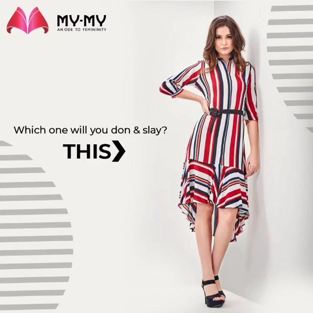 Which one will you don & slay?  #MyMy #MyMyCollection #femalefashion #womensstyle #studentfashion #womensfashionwear #urbanfashion #fashionmotivation #womenclothingstore #womensfashionrange #womensurbanfashion #fashion #vogue #clothes #ExculsiveEnsembles #ExclusiveCollection #Ahmedabad #Gujarat #India